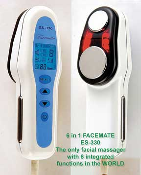 FaceMate - Dual Wave Ultrasonic Face Massager