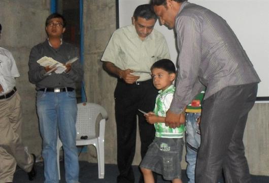 Free Blood Coupons distributed to Thalassemia Major Children. Prathama