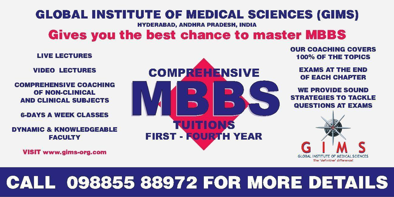MBBS TUITIONS HYDERABAD