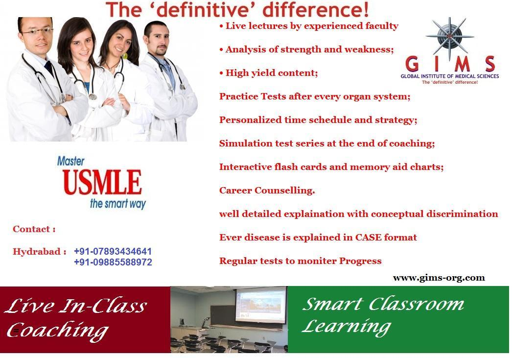 USMLE coaching in hyderabad